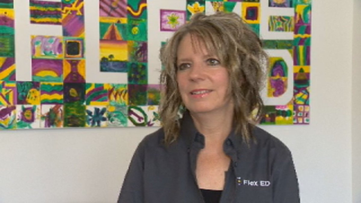 Ann Cook is the principal of Flex Ed, a virtual school that has been delivering the Saskatchewan curriculum since 2005.