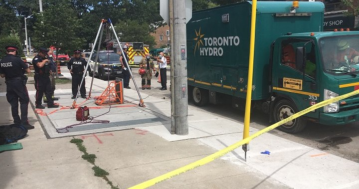 Toronto Hydro Worker Seriously Injured After Suffering Electrical Shock In Industrial Accident Toronto Globalnews Ca