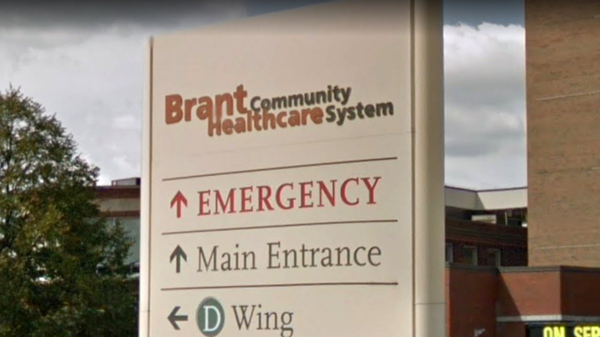 The emergency department at the Brantford General Hospital have declared a COVID-19 outbreak after a two staff members tested positive for the novel coronavirus on the weekend.
