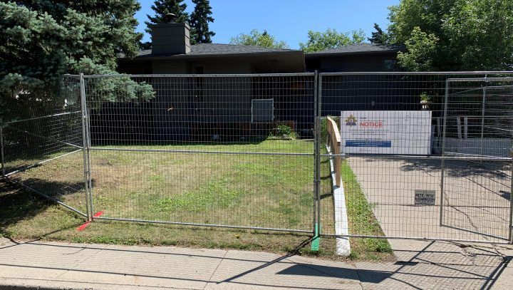 Alberta Sheriffs have shut down a property deemed to be a 'drug house' in northwest Calgary on August 4.
