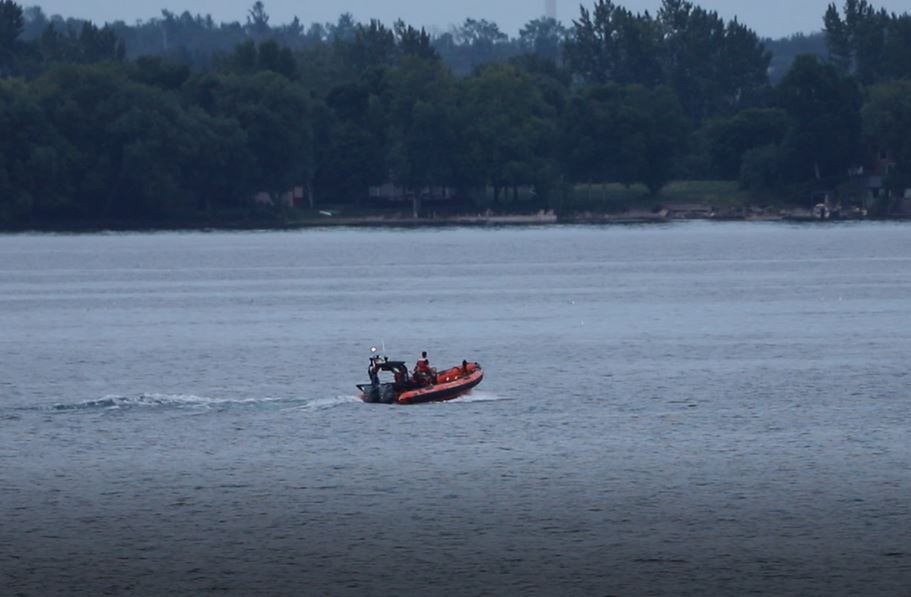 After a full day of searching, OPP say they have recovered the body of a man who went overboard while on the Wolfe Island ferry Monday evening.