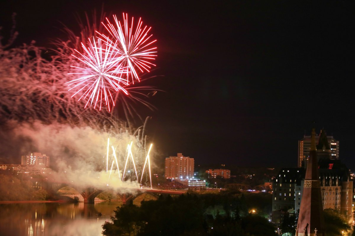 Nutrien Fireworks Festival organizers say they are postponing the two-day event until next year due to the novel coronavirus pandemic.