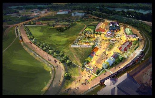 A rendition of Fort Edmonton Park renovations