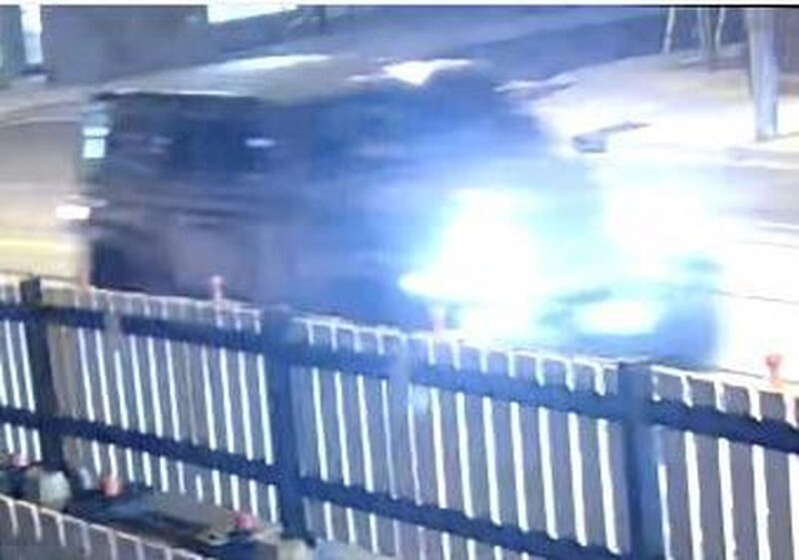Police release this image of the suspected vehicle involved.