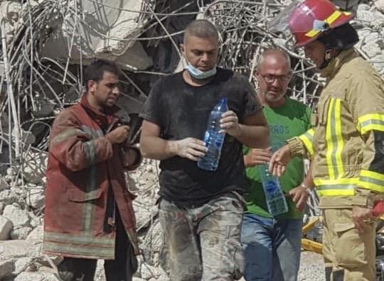 Edmonton man raises money for families of first responders killed in Beirut blast