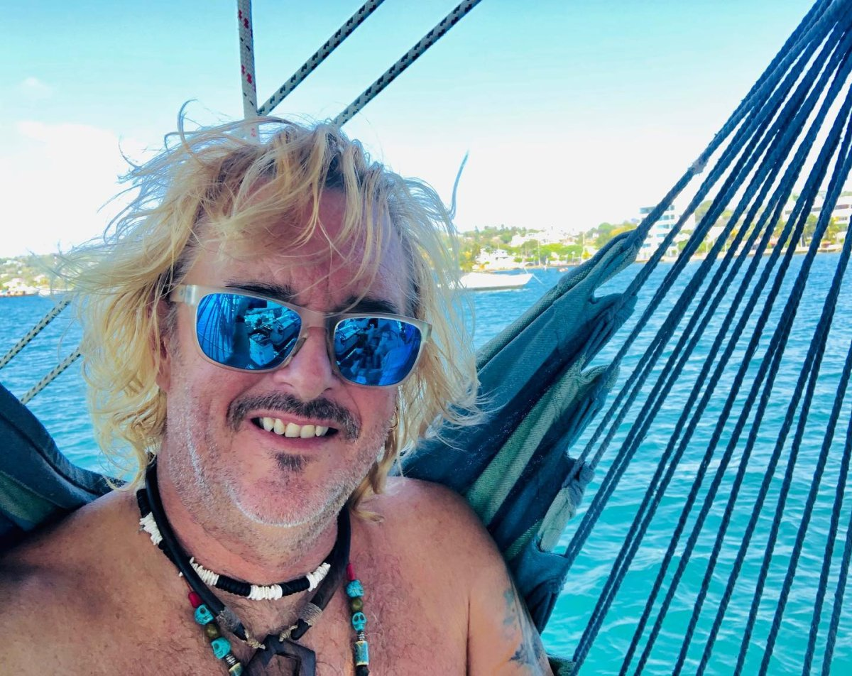 Popular YouTuber Captain Rick Moore is waiting for coronavirus restrictions to lift so that he and his partner can set sail through the Pacific Ocean and Panama Canal.