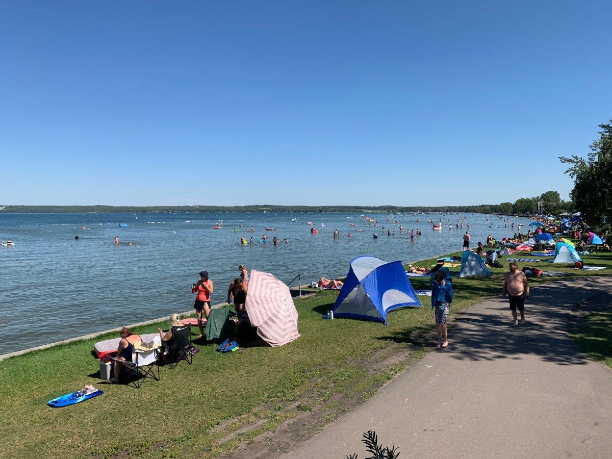 Sylvan Lake, Alta., Tuesday, Aug. 18, 2020.