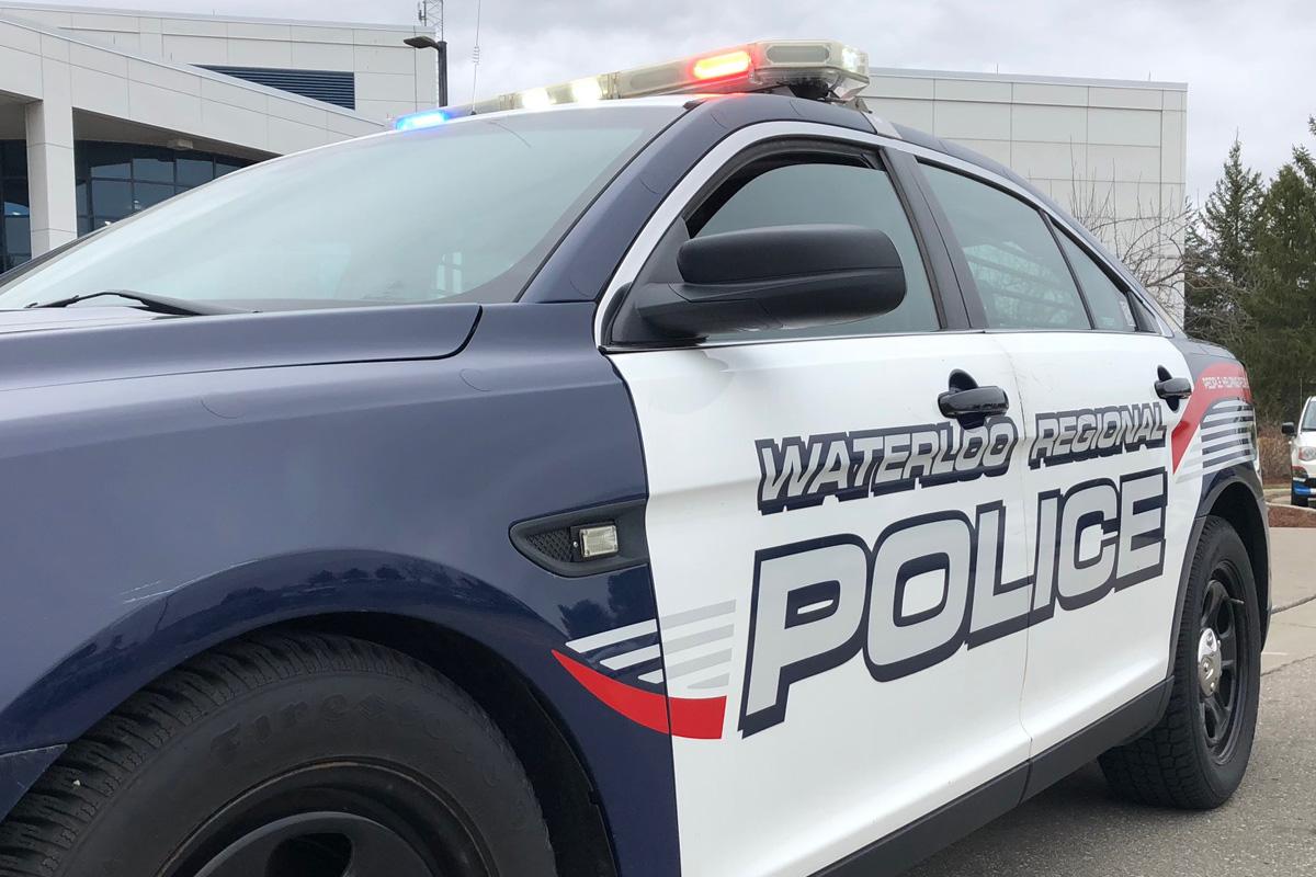 A Waterloo Regional Police cruiser.
