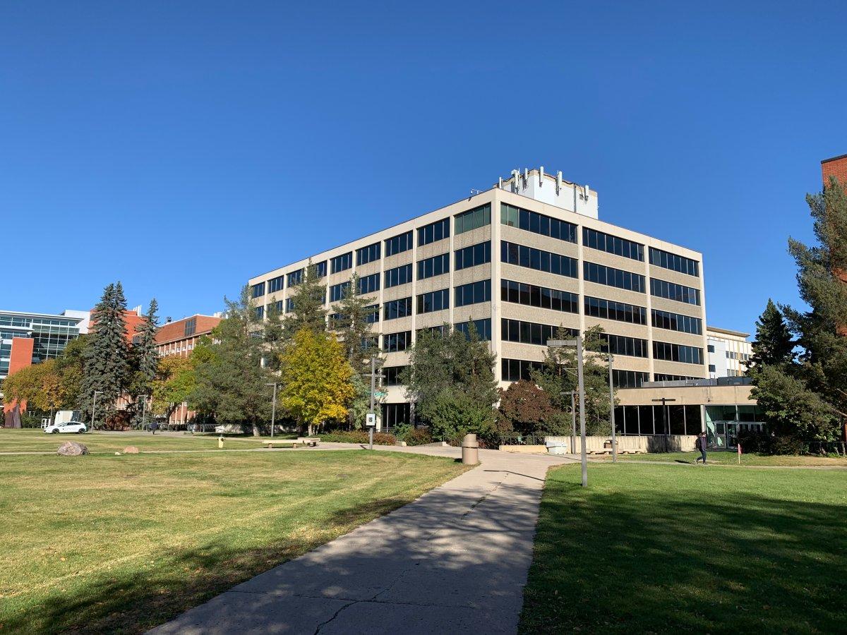 The University of Alberta campus on Sept. 30, 2020.