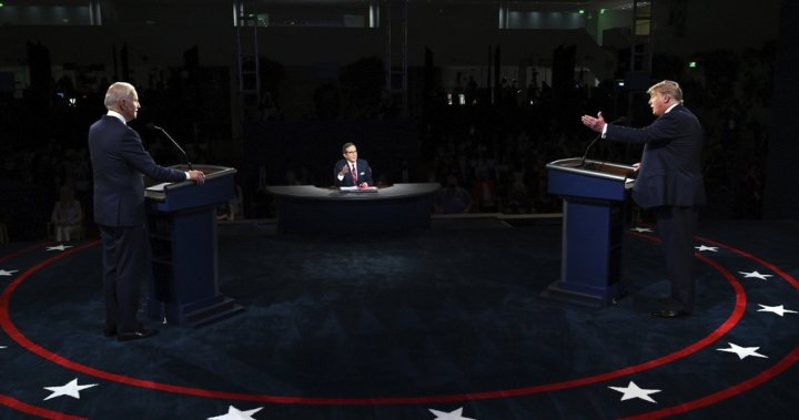 COMMENTARY: A chaotic first debate leaves the U.S. presidential race unchanged