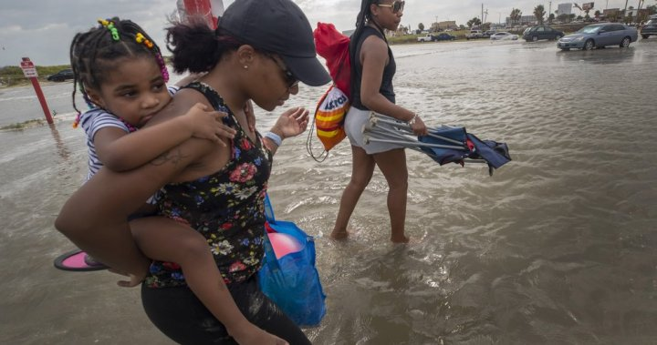 Tropical Storm Beta continues slow crawl toward Texas, Louisiana