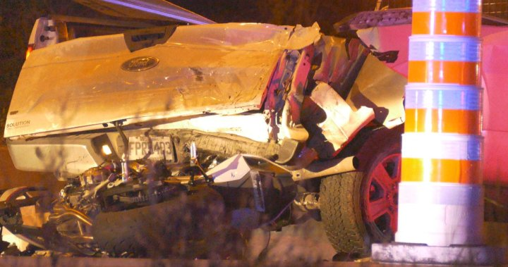 One dead, two seriously injured after crash on Laval's Highway 440