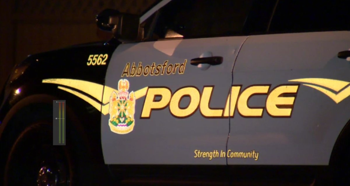 Abbotsford Police are investigating after a stabbing Friday evening behind a recreation centre.