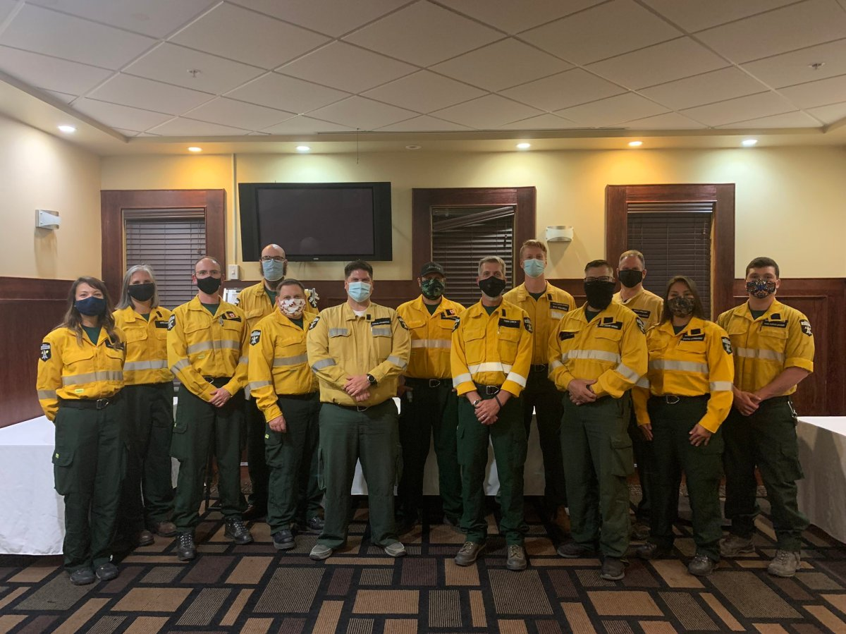 Alberta firefighters ready to head to Oregon to help battle wildfires.