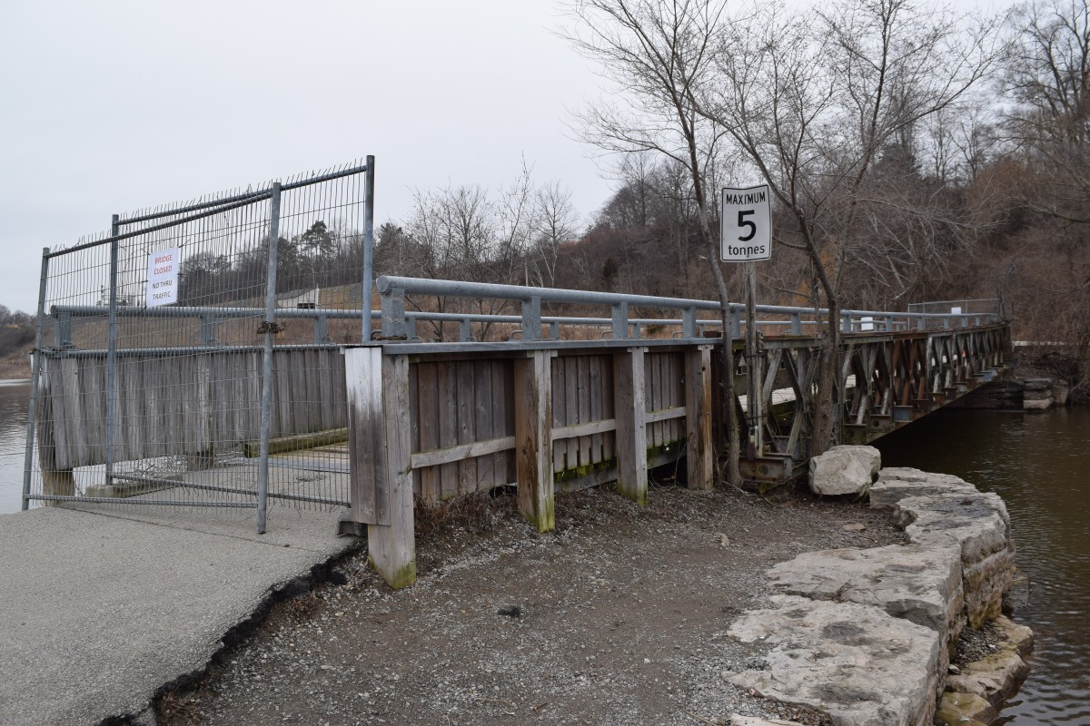 the Patrick J. McNally Charitable Foundation is donating up to $1 million to restore the Valley Inn Road bridge.