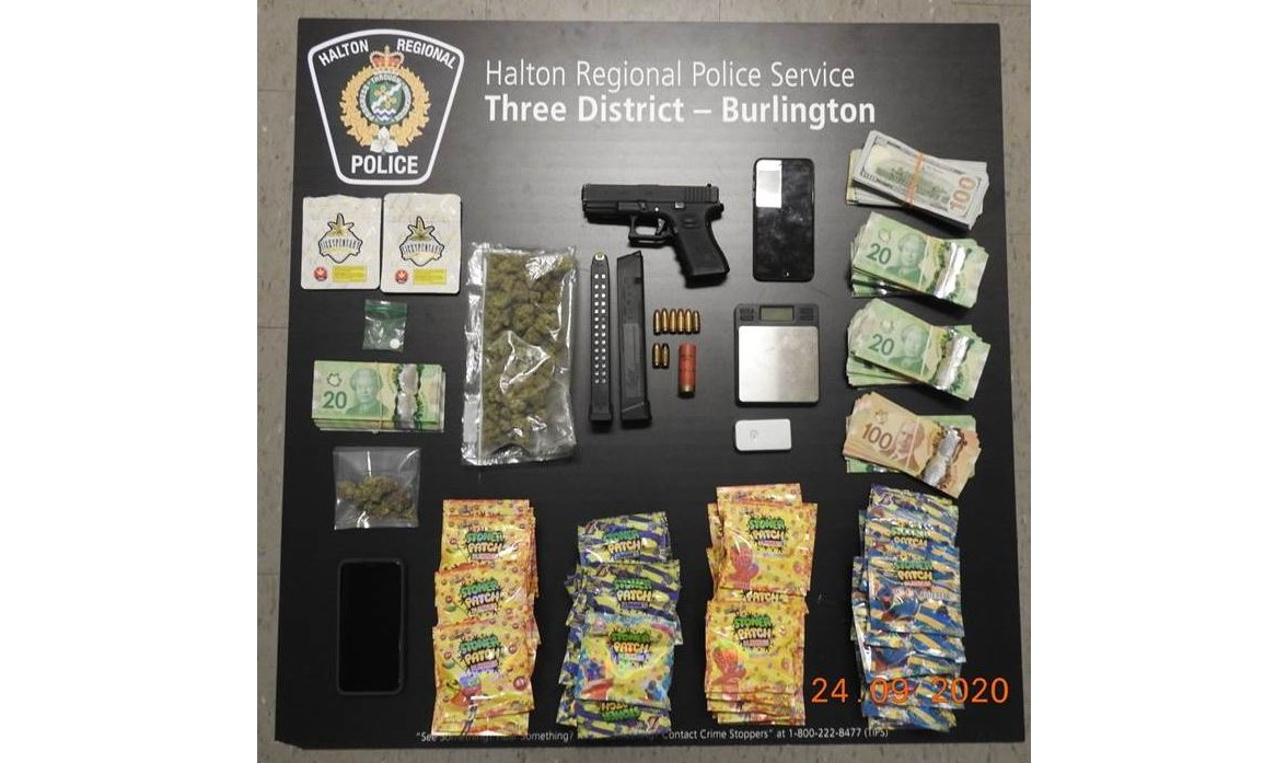 Halton Regional Police have arrested an 18-year-old man following a Cannabis Act investigation.