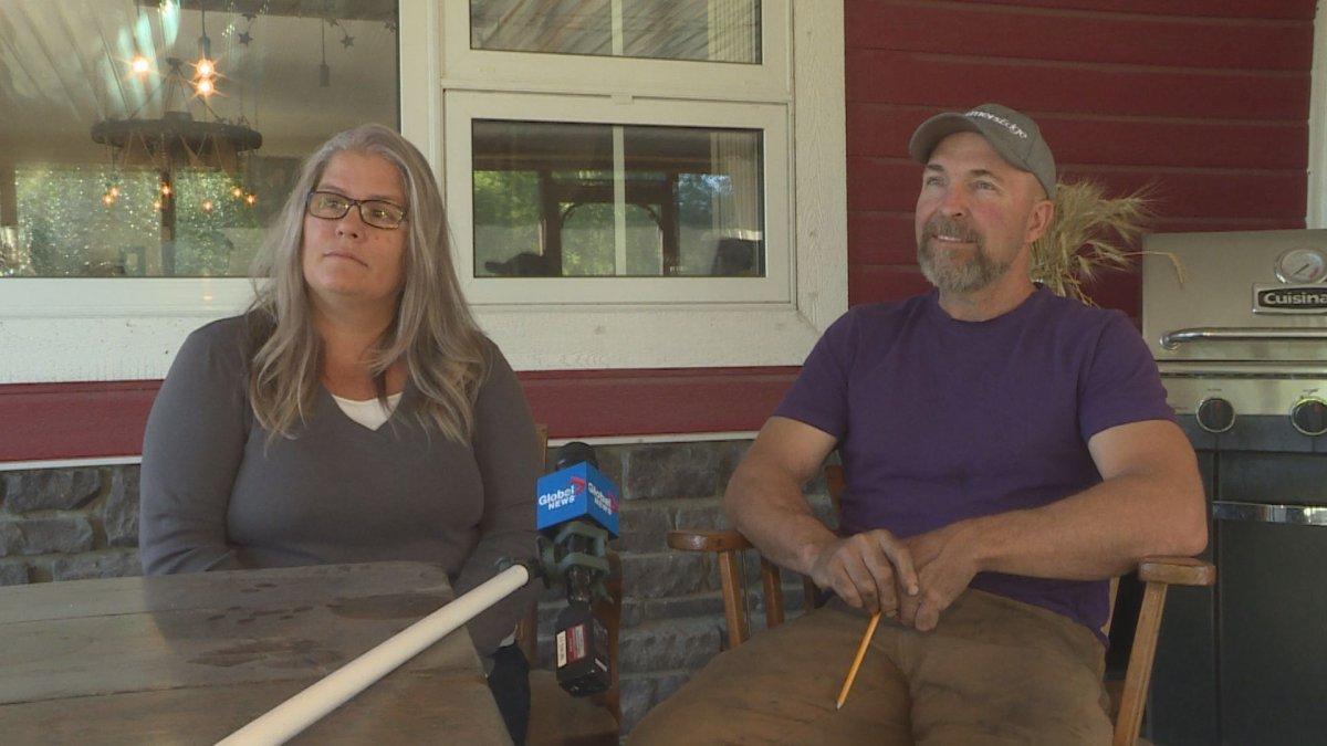 Tricia and Darren MacDonald say their farm near Portage la Prairie has been hit by criminals 17 times in a two year span.