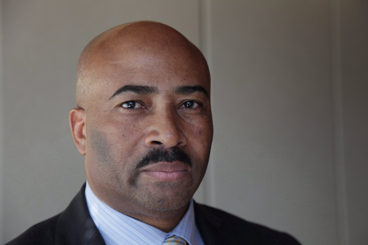 Senator Don Meredith seen during an interview in Toronto on March 16, 2017.