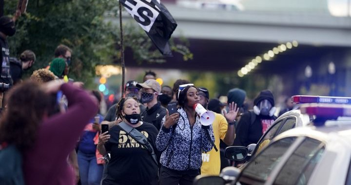 'No justice, No peace': Protesters march in Louisville Saturday over Breonna Taylor case