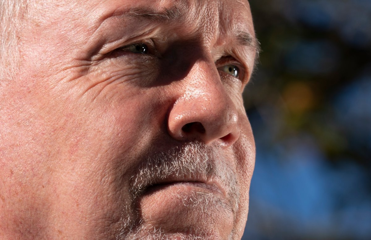 NDP Leader John Horgan pauses for a moment as he addresses the media during an election campaign stop in Coquitlam, B.C. Tuesday, September 29, 2020.  THE CANADIAN PRESS/Jonathan Hayward.