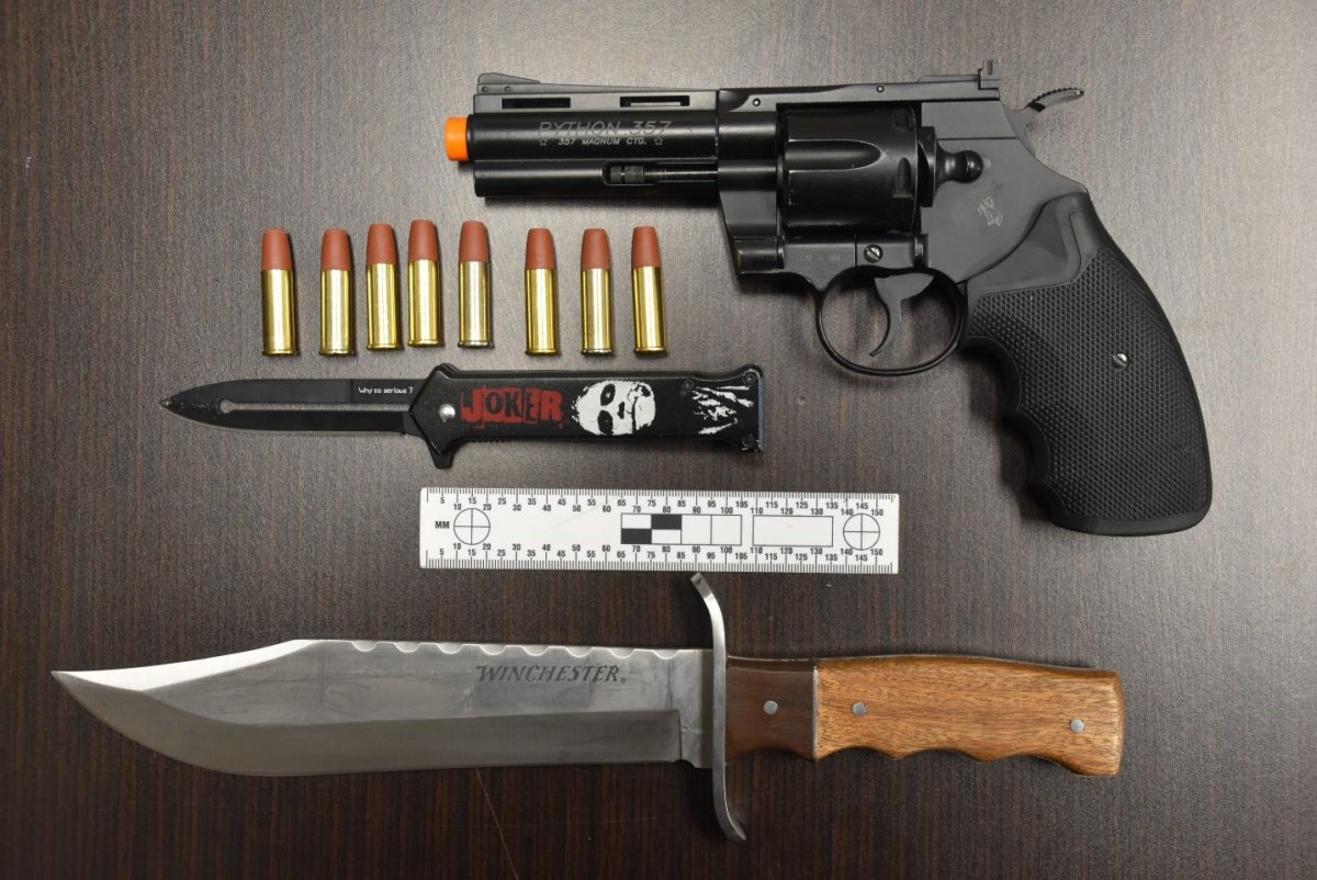 A Cobourg man faces weapons charges.