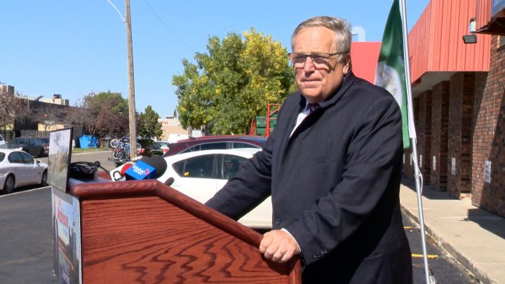 Don Atchison says he won't vote for any tax increase beyond zero per cent if elected mayor of Saskatoon.