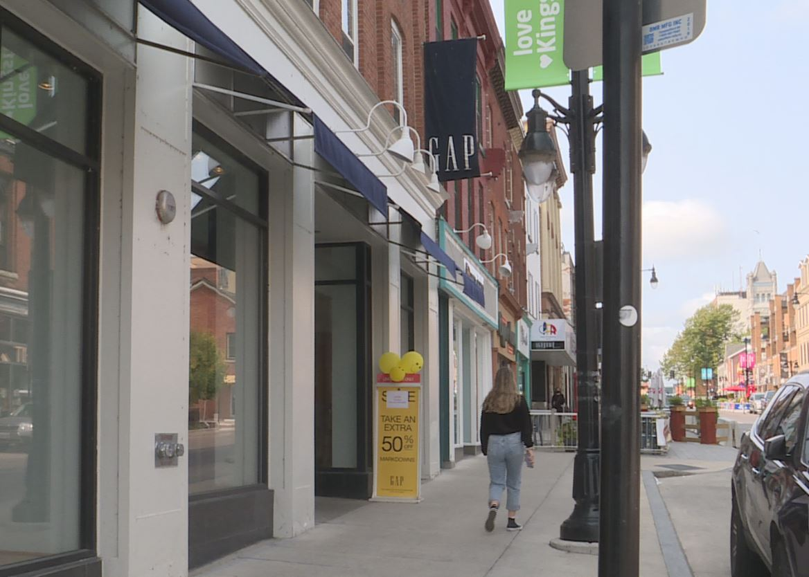 Kingston's only Gap store will be closing its doors for good next week.
