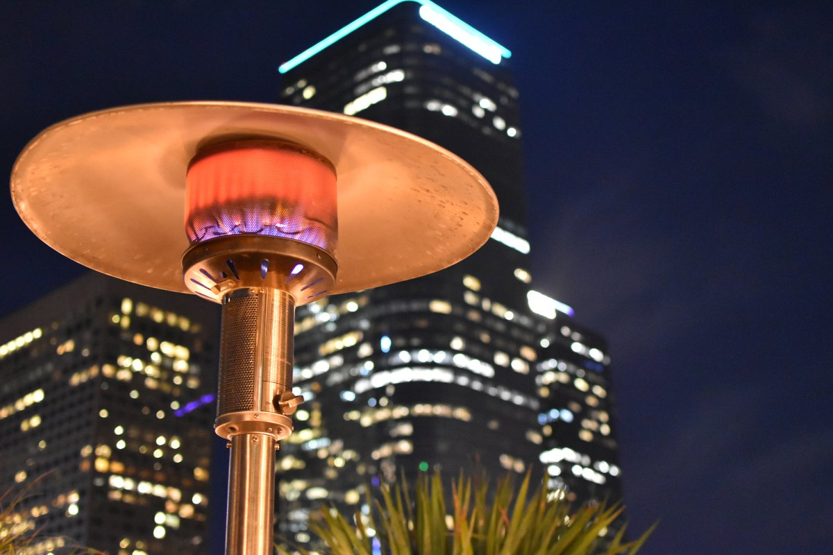Outdoor heaters are among the items expected to be in high demand this fall.
