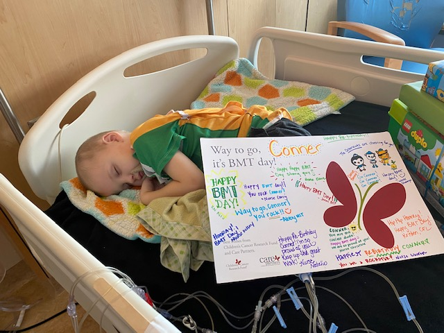 Four-year-old Conner Finn is recovering in a Minneapolis hospital after a bone marrow transplant to treat a rare disease known as ALD.