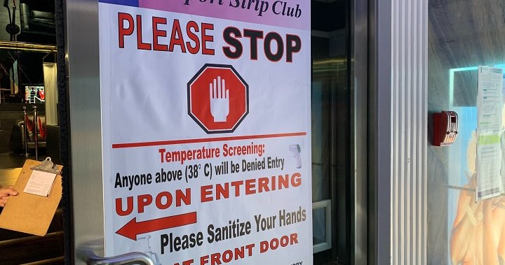 Mississauga strip club owner, staff say they're being unfairly targeted amid rise in coronavirus cases