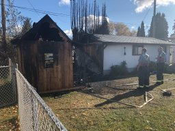 Continue reading: 'Massive boom' in St. Vital turns out to be backyard shed in flames