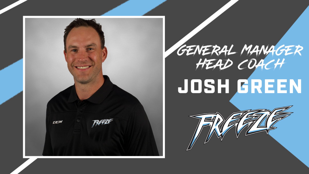 Former NHLer Josh Green has been named the coach and GM of the expansion Manitoba Freeze of the MJHL.