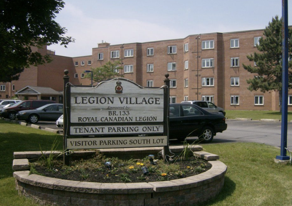 A resident at Legion Village in Cobourg has tested positive for COVID-19.