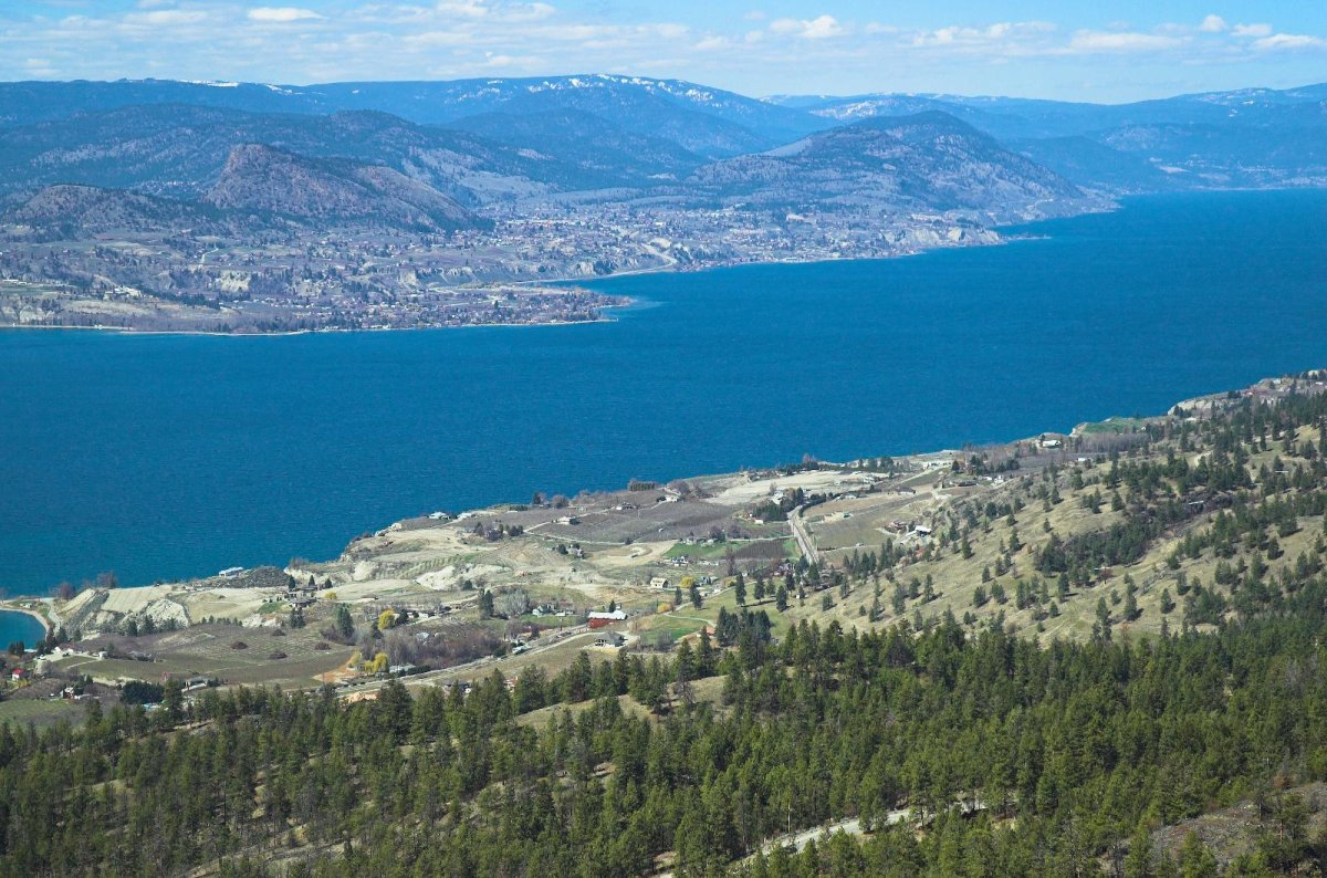 In April of 2019, Canadian Horizons submitted a rezoning proposal for approximately 350 residential units ranging from large single-family lots to townhomes on the Naramata Bench.