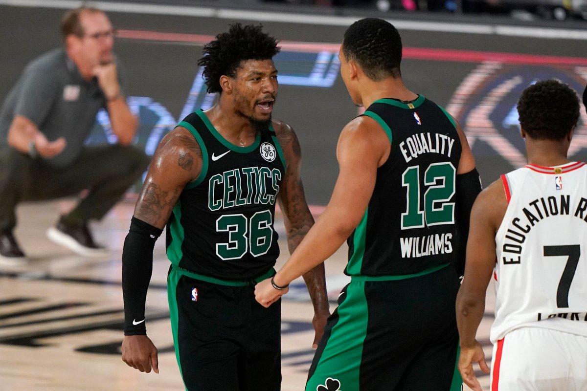 Rick Zamperin Uh Oh Toronto Raptors Up Against It Vs Celtics Globalnews Ca