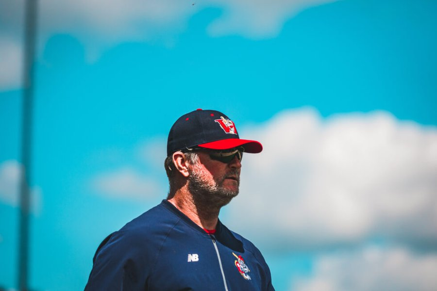 Winnipeg Goldeyes manager Rick Forney.