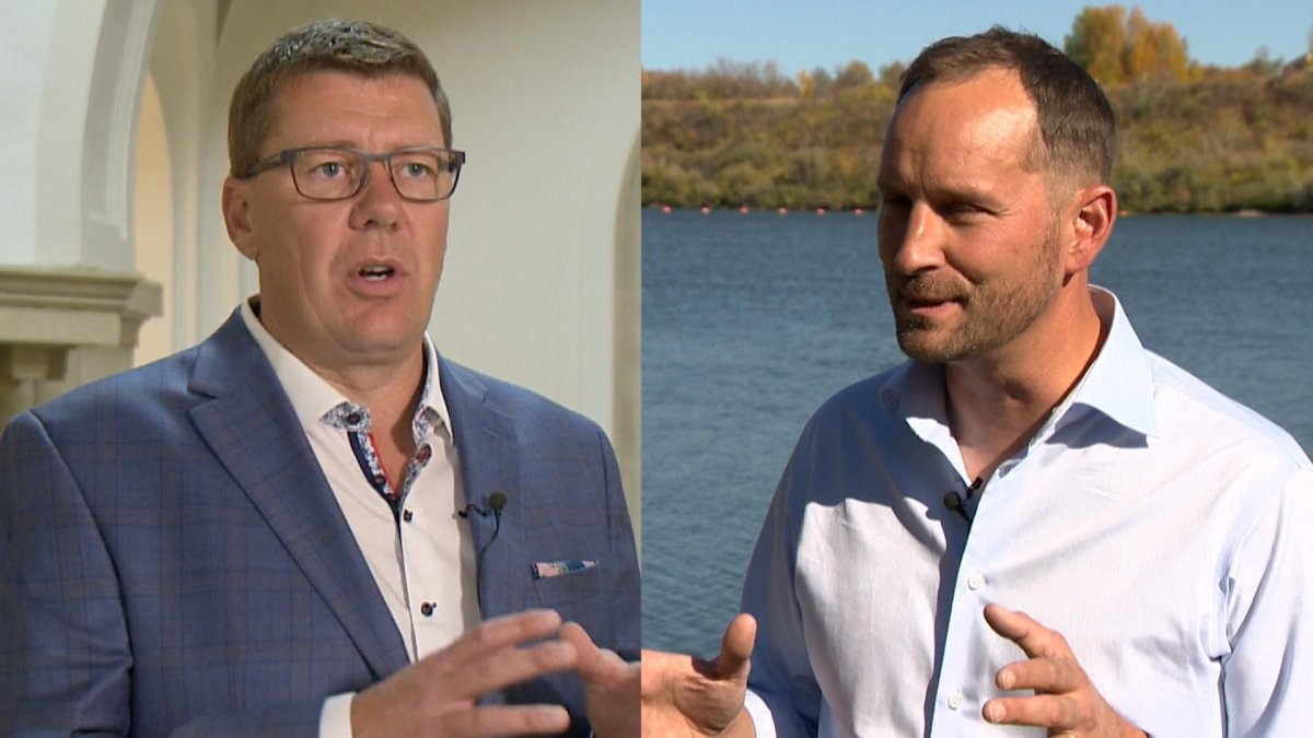 Saskatchewan Party Leader Scott Moe and Saskatchewan NDP Leader Ryan Meili are leading their parties into a general election for the first time.