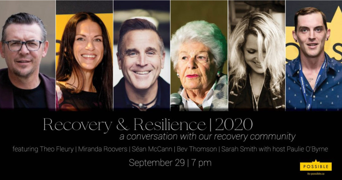 (L-R) heo Fleury, Miranda Roovers, Séan McCann, Bev Thomson, Sarah Smith, and host Paulie O'Byrne will all be part of the Facebook live event.