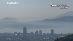 Continue reading: Okanagan weather: Smoke from wildfires to thicken in valley