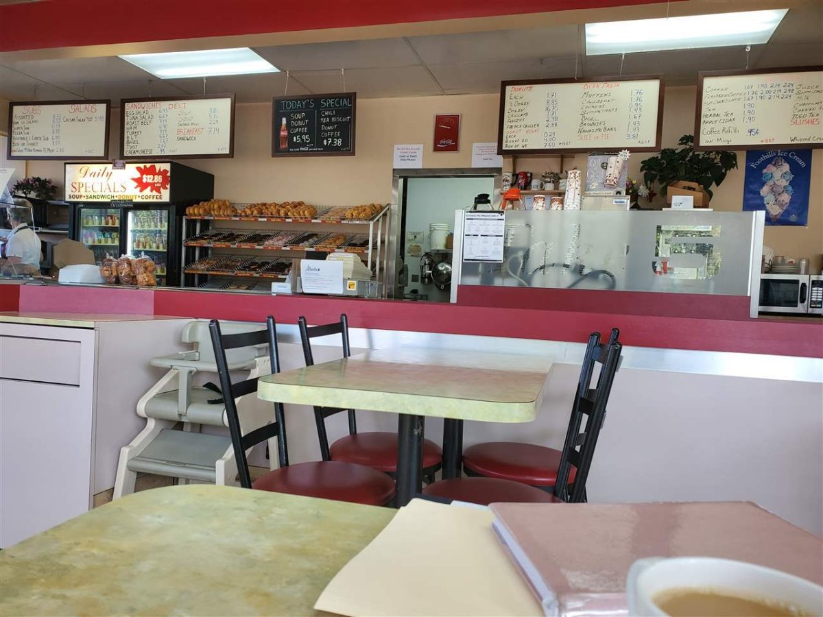 Take 5 is a cafe in Edmonton's Beverly neighbourhood. After 41 years with the same owner, the shop is up for sale.