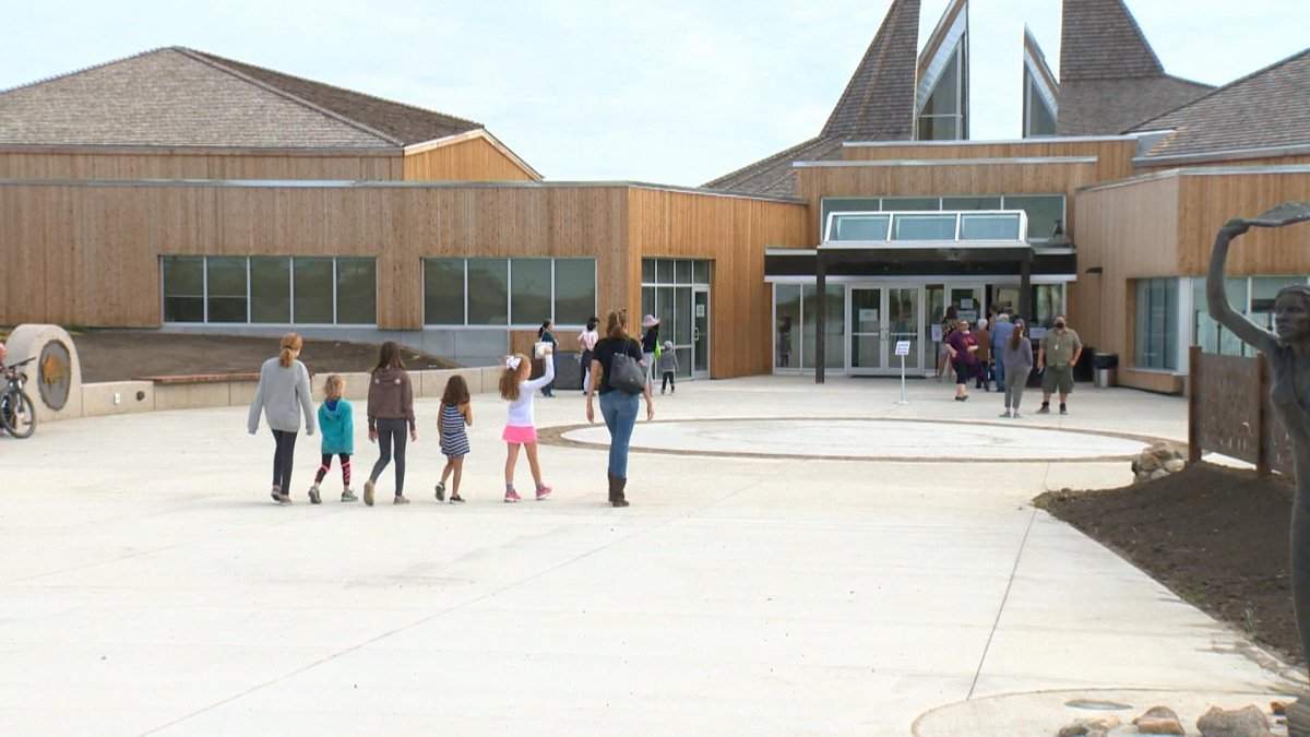 Wanuskewin Heritage Park reopened to the public on Saturday.