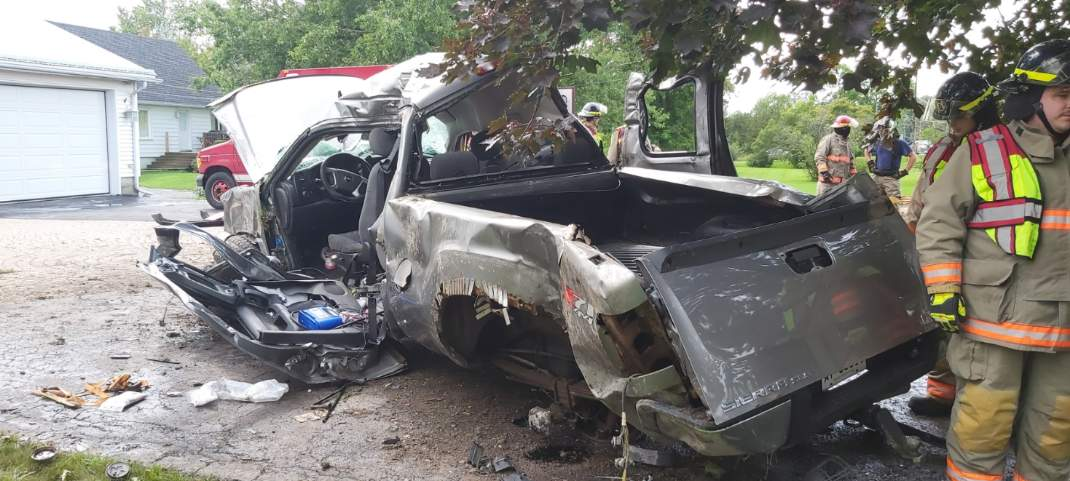 One person has died with three others injures during a rollover on Highway 2 in Belleville this past weekend.