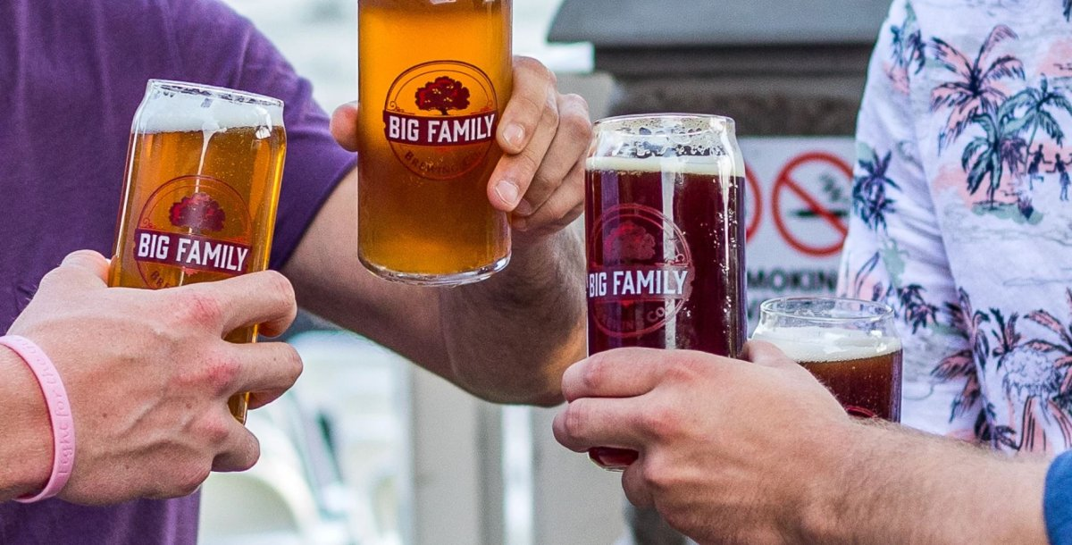 Big Family Brewing Company opened its biergarten in Sarnia, Ont. on Aug. 20, 2020.
