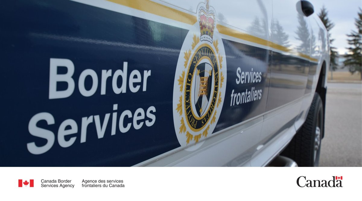 CBSA says the U.S. boat was spotted off the coast of Vancouver Island on Aug. 31.