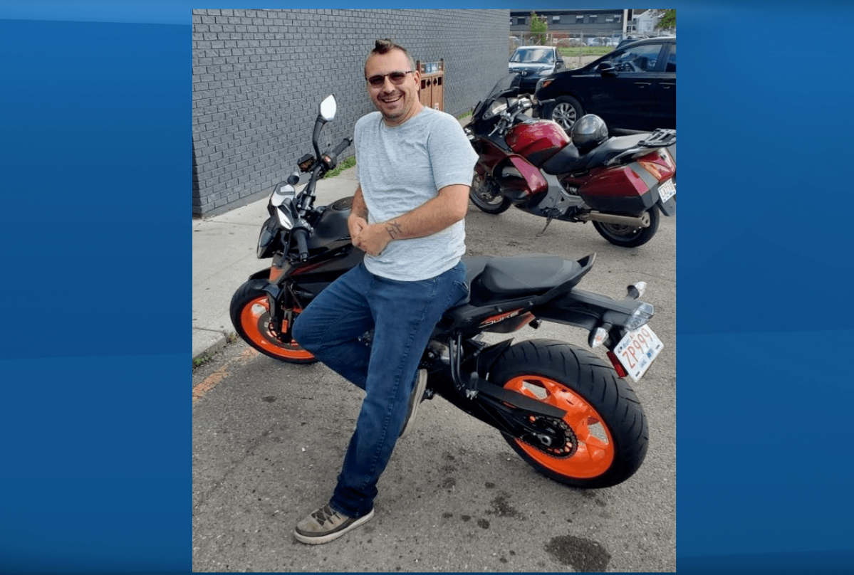 Darcy Evans died in a motorcycle crash on Groat Road in Edmonton at the end of August.