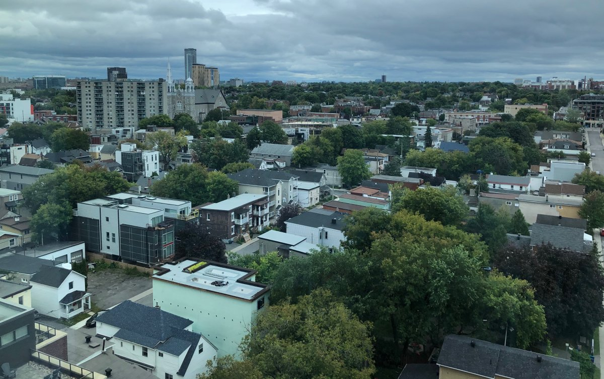 Ottawa's Hintonburg neighbourhood has often the target of infill. The city will need to grow 60 per cent through intensification over the next 25 years.