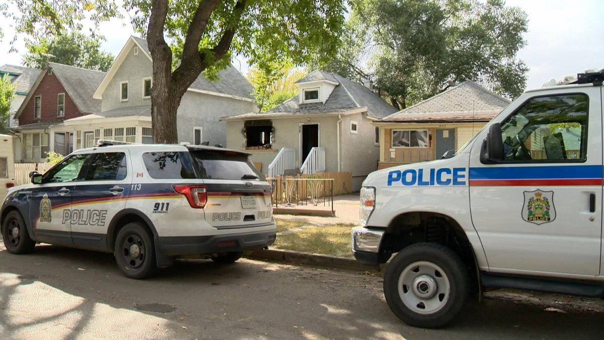 Saskatoon police said they received information on Tuesday that an injured or dead person was at the house in the 400 block of Avenue G South.
