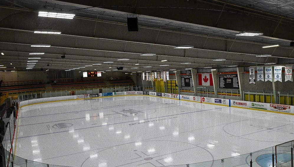 The University of Guelph says its arena will be closed for a month.
