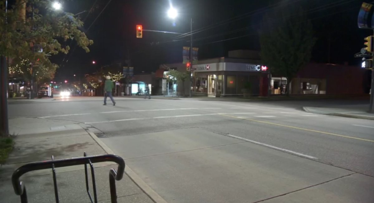 The intersection of Sasamat Street and West 10th Avenue was the scene of a pedestrian fatality, after a vehicle struck a 74-year-old woman late Monday afternoon.