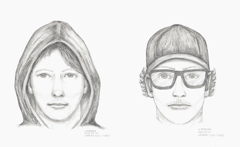 Langley RCMP are searching for this man in connection with a series of indecent exposures this week.